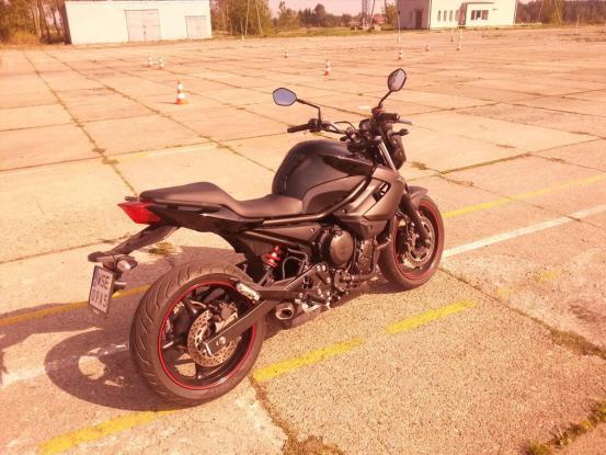 Nasz motocykl A w OSK Kaluza, Nauka Szkola Jazdy Sierpc